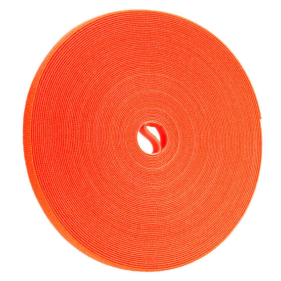 Certified Data 1/2-inch Velcro Wrap - 75 feet - Orange
