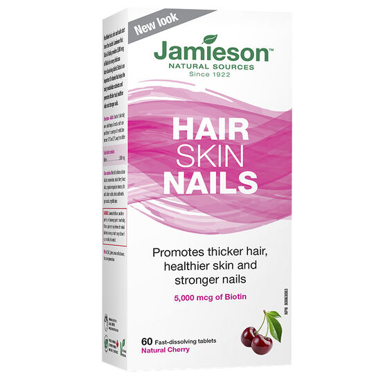 Jamieson Hair Skin Nails - Natural Cherry - 60's