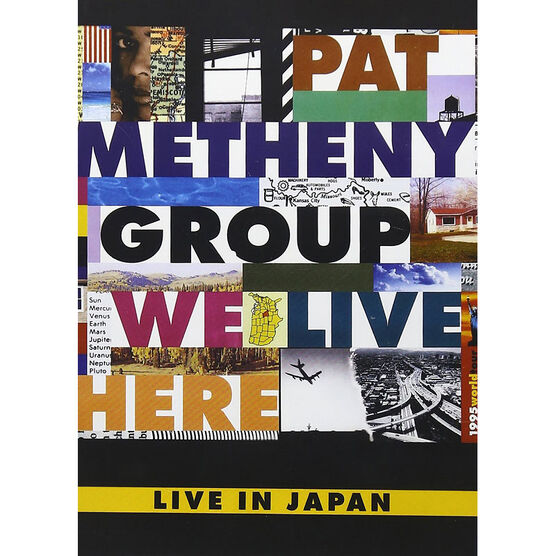 Pat Methany Group - We Live Here: Live In Japan - DVD