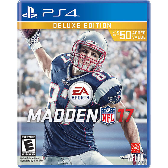 PS4 Madden NFL 17 Deluxe Edition