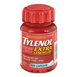Tylenol* - Extra Strength - 500mg/150's