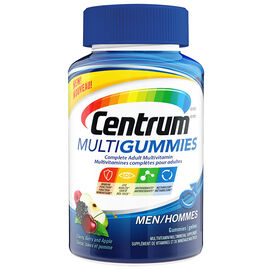 Centrum Multigummies Complete Adult Mulivitamin Men - 130's