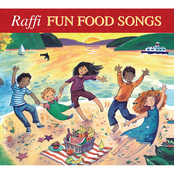 Raffi - Fun Food Songs - CD