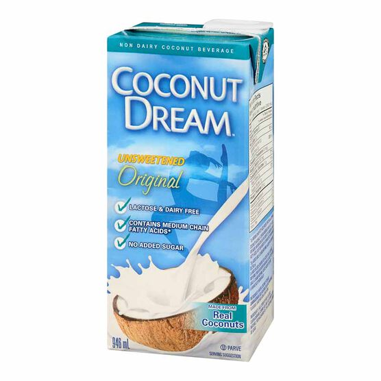 Coconut Dream Original - Unsweetened - 946ml