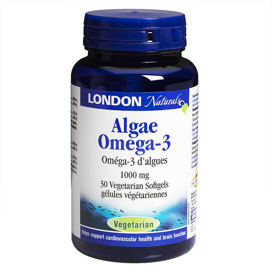 London Naturals Algae Omega 240/120 - 1000mg - 30's