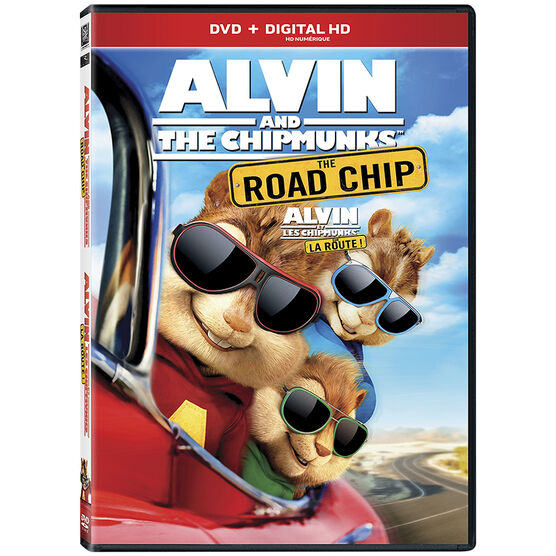 Alvin and the Chipmunks: The Road Chip - DVD