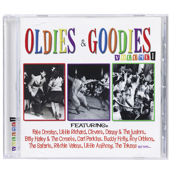 Various Artists - Oldies and Goodies Vol. 1 - CD