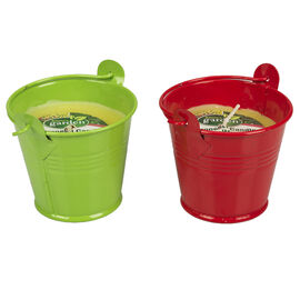 Tin Bucket Citronella Candle - 2.25in