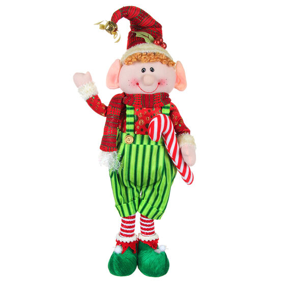 Winter Wishes Standing Jingle Bell Elf - 24 inch