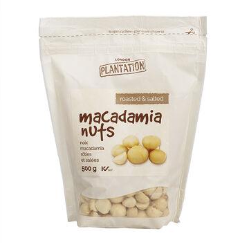 London Plantation Macadamia Nuts - Roasted & Salted - 500g