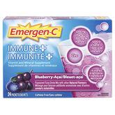 Emergen-C Immune Plus Blueberry Acai - 24's