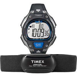 Timex Ironman Road Trainer Digital Heart Rate Monitor - T5K718L3