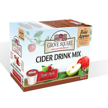 Grove Square Cider - Spiced Apple - 24 pack