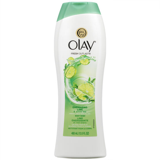 Olay Fresh Outlast Body Wash - Energizing Lime & White Tea - 400ml