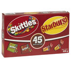 Skittles & Starburst Candy - 45's