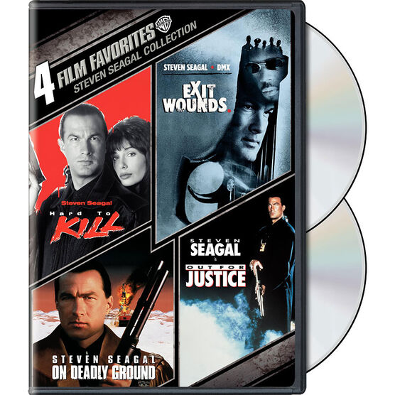 4 Film Favorites: Steven Seagal Action - DVD