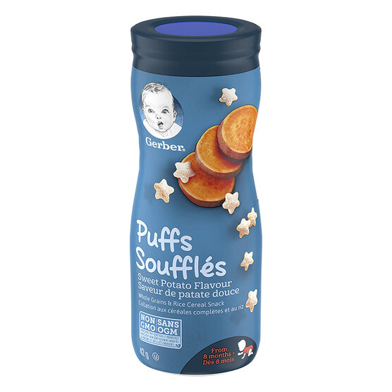Gerber Toddler Snacks Puffs - Sweet Potato - 42g