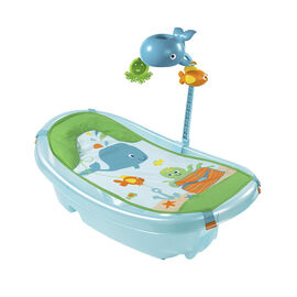 Summer Ocean Buddies Baby Tub with Toy Bar