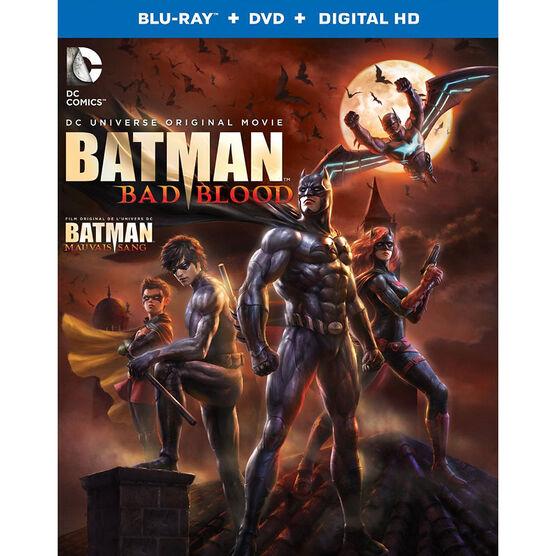 Batman: Bad Blood - Blu-ray + DVD