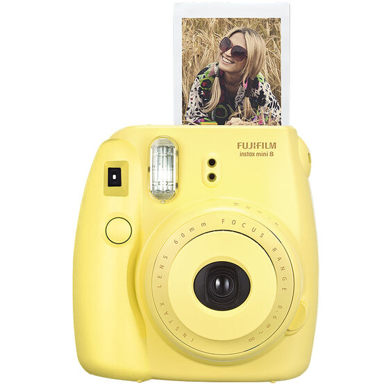 Fuji Instax Mini 8 - Yellow - 600015401