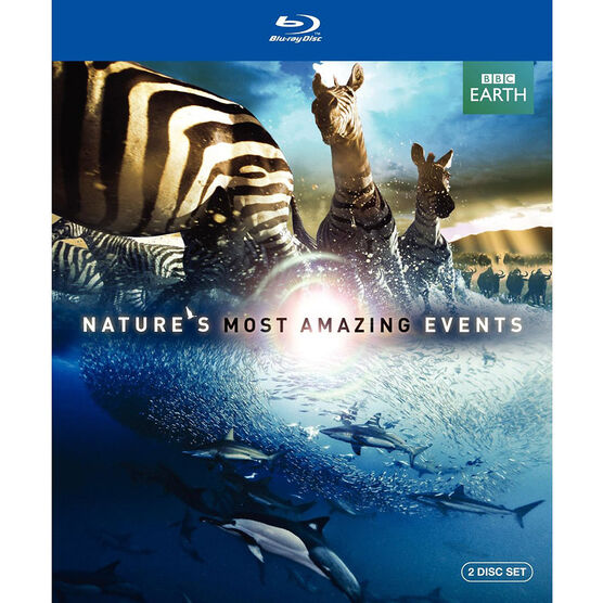 Nature's Most Amazing Events - Blu-ray