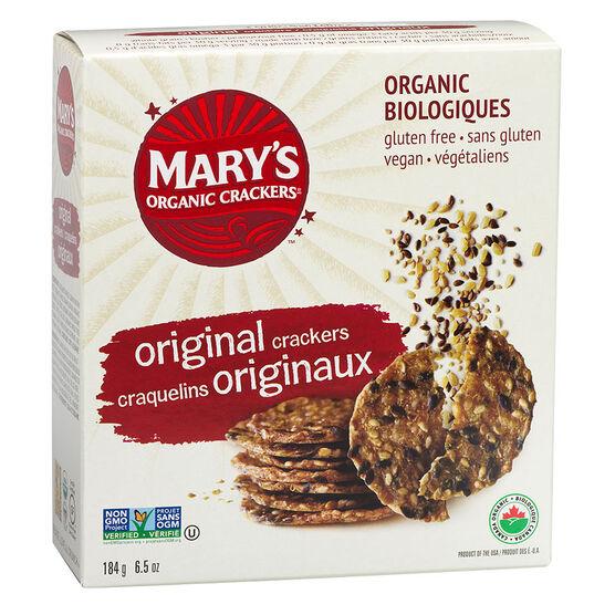 Mary's Organic Crackers - Original - 184g | London Drugs