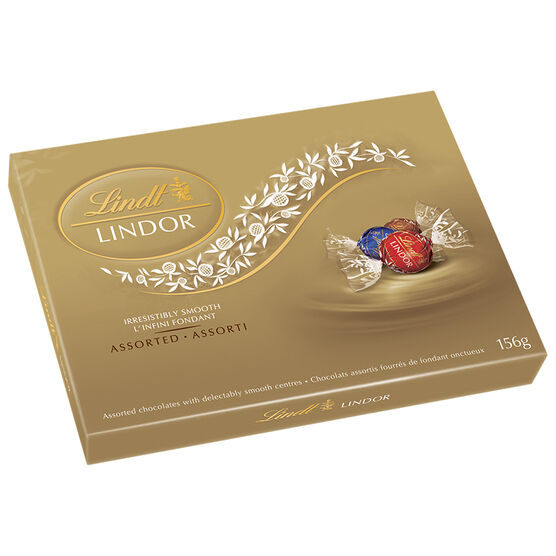 Lindor Assorted Chocolate - 156g Box