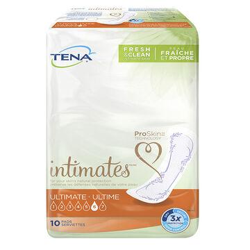 Tena Ultimate Pads - 10 pack
