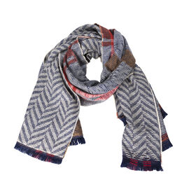 Star Rose Hipster Chic Scarf - Assorted