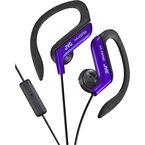 JVC Sport-Clip Headphones with Remote/Mic - Blue - HAEBR80A
