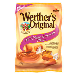 Werther's Soft Caramels - 128g