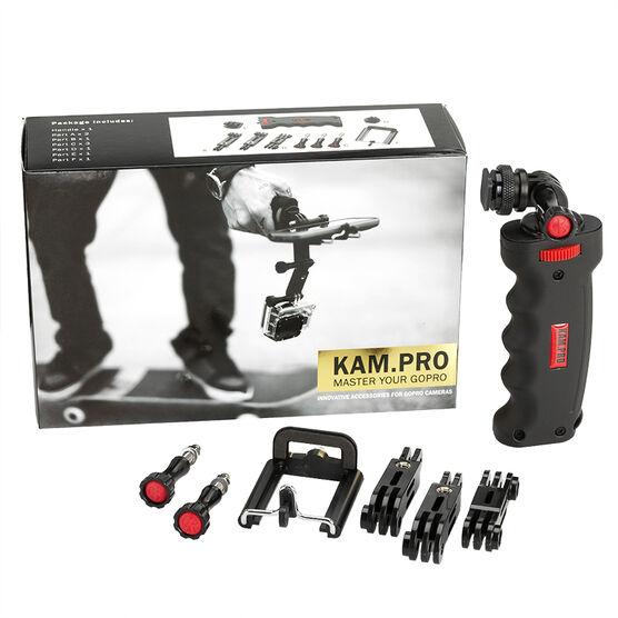 KamPro GoPro Handle Kit - Black - 400-050