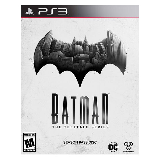 PS3 Batman: The Telltale Series