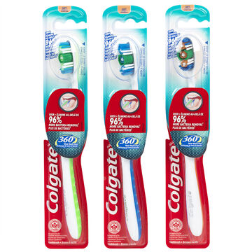 Colgate 360 Manual Toothbrush - Soft