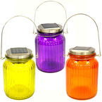 Fusion Solar Sun Jar with Lens - 24536 - Assorted