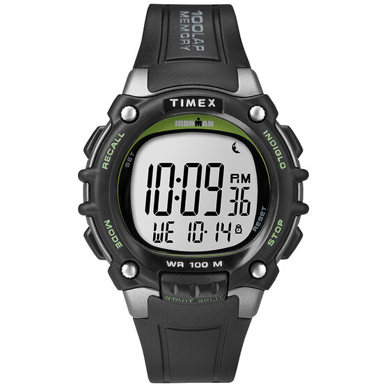 Timex Ironman Watch - Black/Green - TW5M03400GP