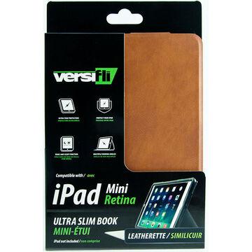 Versifli Ultra Slim Book for iPad Mini with Retina Display - Brown - FLI-5027BRN