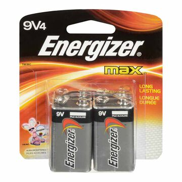Energizer 9V Battery - 4 pack