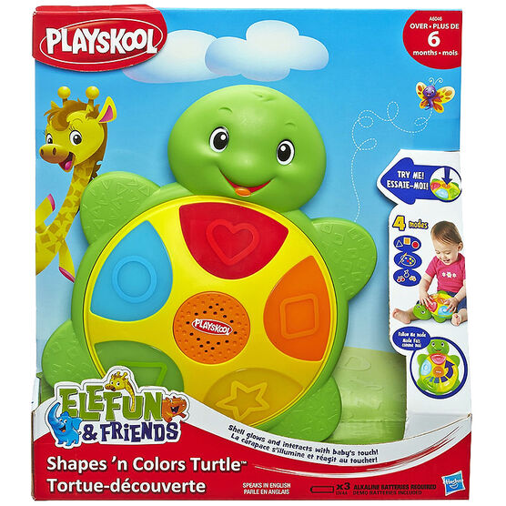 Playskool Shapes 'n Colours Turtle