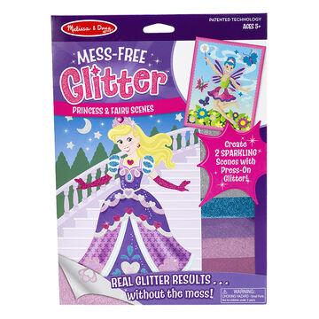 Melissa & Doug Mess Free Glitter Princess & Fairy Scenes