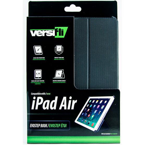 Versifli Evostep Book iPad Air Case - Black - FLI-5022BLK