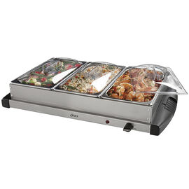Oster Triple Buffet Server - CKSTBSTW00-033