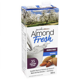 Earth's Own Almond Fresh - Unsweetened - 946ml