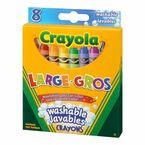 Crayola Large Washable Crayons - 8pack