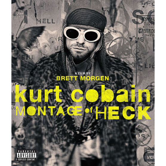 Kurt Cobain: Montage of Heck - Blu-ray