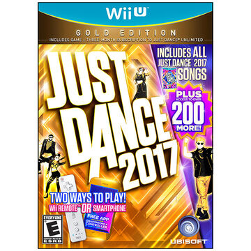 PRE-ORDER: Wii U Just Dance 2017 Gold Edition