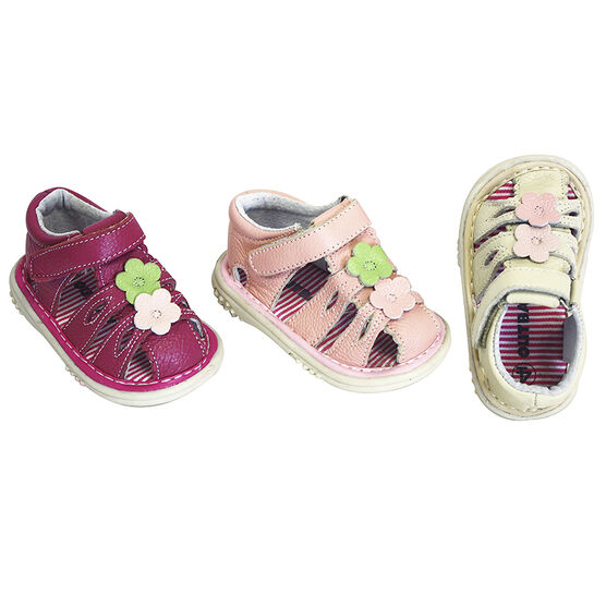 Outbaks Flower Sandal Assorted - Girl's