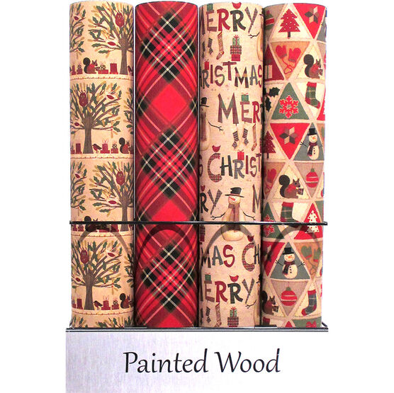 Painted Wood Gift Wrap - Assorted