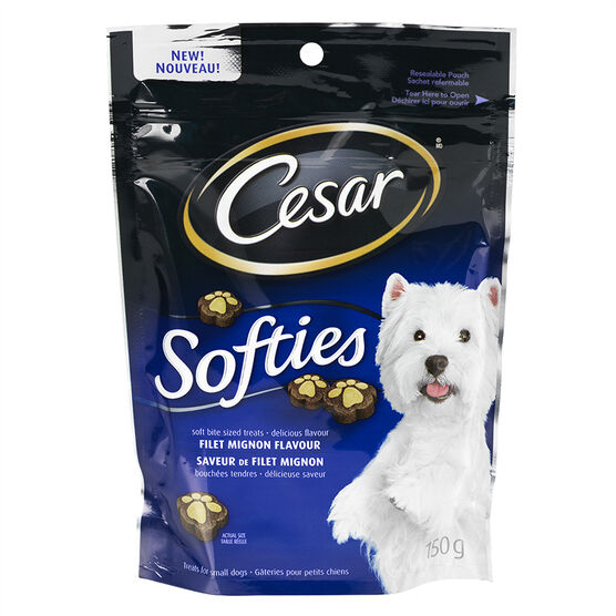 Cesar Softies Dog Treats - Filet Mignon - 150g