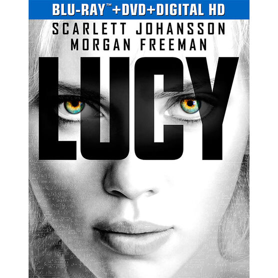 Lucy - Blu-ray + DVD + Digital HD